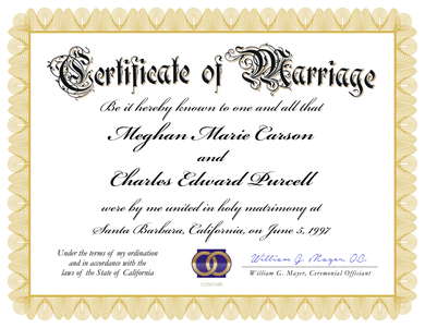 Image result for wedding certificate