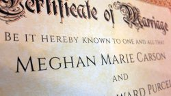 Personalized Marriage Certificate (Image)